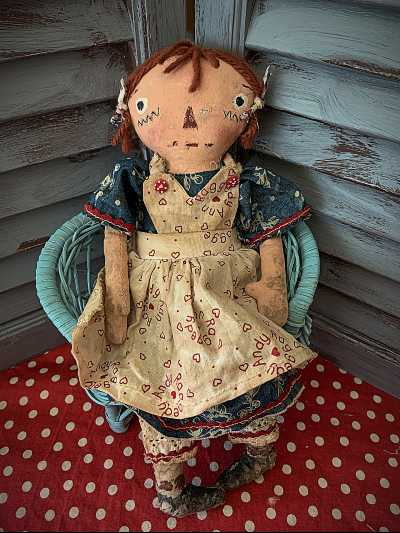 Denim Blue Raggedy Ann