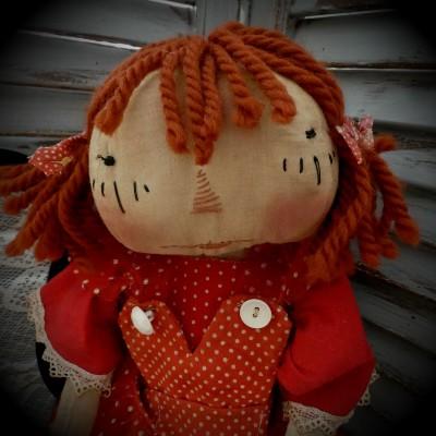 Raggedy Ann in Red