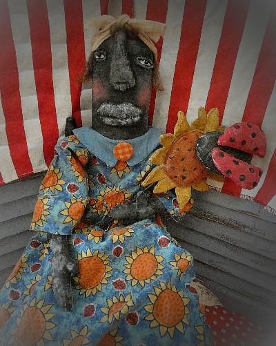 Sunflower Sally and Lady Bug too