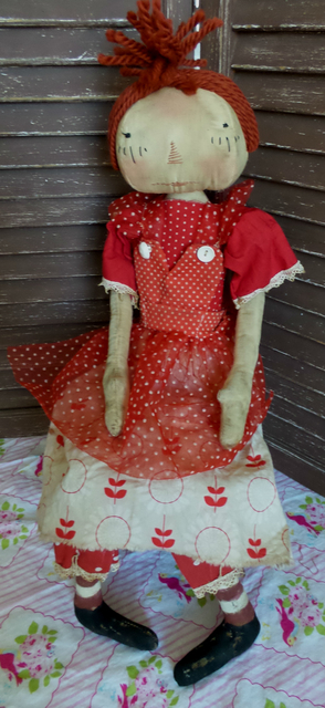 Raggedy Ann in Red